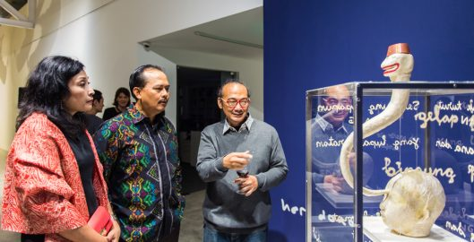 Heri Dono Exhibition